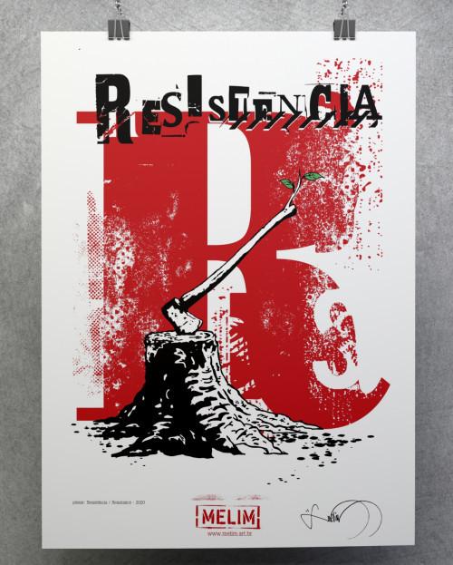Poster Resitência