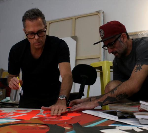 Colagem Urbana SP - Marcos Mello e Daniel Melim